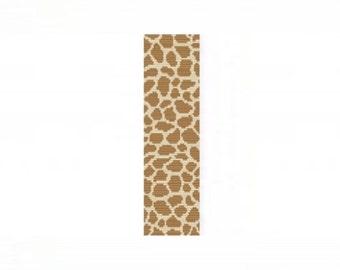 2 Patterns for 1 Price - Giraffe Safari Cuff and Thin Bracelets - Loom or 2 Drop Peyote Bead Patterns