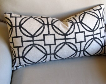 13x26 ONYX decorative designer bolster pillow 13x26 with insert
