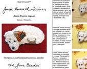 PDF: русском JACK RUSSELL Terrier Beaded Animal Beading Pattern Russian (For Personal Use Only)