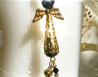 JOSIE  A Guardian ANGEL Ornament, Rearview Mirror Jewel, Suncatcher, Car Gem, Purse Charm, Faith Symbol