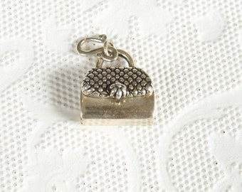 SALE WAS 40 Sterling Kabana KBN Handbag Purse Charm