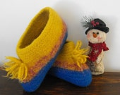 Wool Felted Slippers