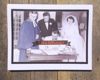 Greeting card #29, Wedding Card, Congratulations card
