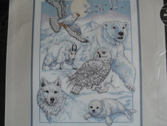 Counted CrossStitch Animals Dimensions NeedleWork Embroidery Kit