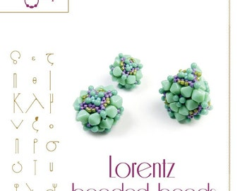Lorentz Beaded Bead Pattern  - PDF instruction for personal use only