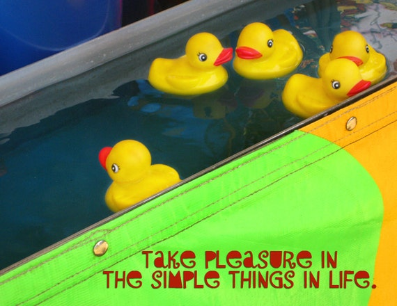 Take Pleasure Inspirational Print