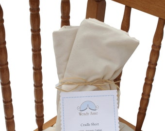 One Cradle Sheet- Choose your fabric