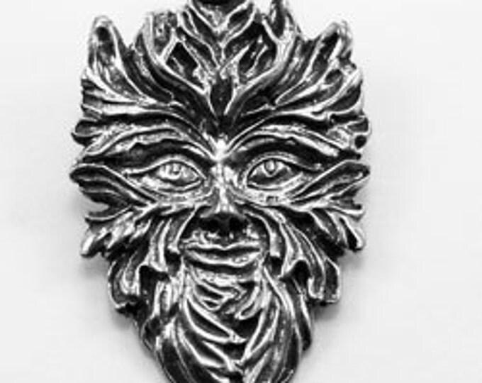 10 x  Green Man  celtic god 1 bail Australian Pewter z482