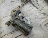 Dragon Pistol Necklace
