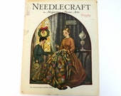 Antique December 1929 Needlecraft Magazine