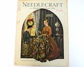 Antique December 1929 Needlecraft Magazine