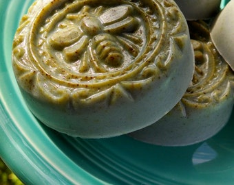 Sweet Orange and Charcoal Facial Soap, with Orange Peel