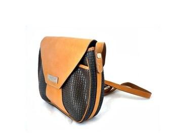 TED LAPIDUS French Vintage Designer Bag / Satchel / Crossover Bag