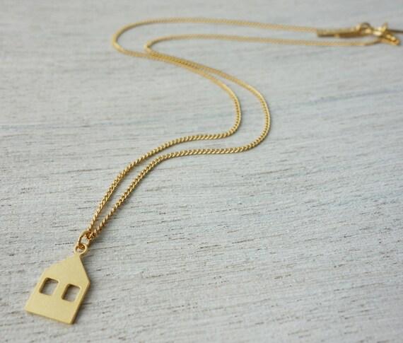 Petit collier de Copenhague, bijoux de charme minimaliste, bijoux d'enfants filles enfants