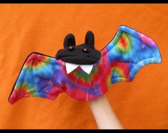 Spooky Bat Hand Puppet