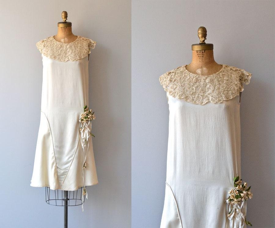 Robe de mariée Annecy robe de mariée dannées 1920 par DearGolden