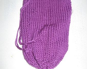 Dark purple dice bag