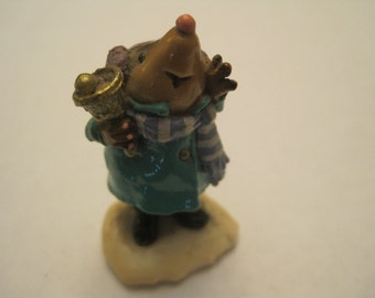 Vintage Wee Forest Folk Mole Ringing Bell