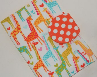 Paperwhite Case Kindle Fire HD Cover Nook Tablet Case all sizes Giraffe Love custom eReader Cover