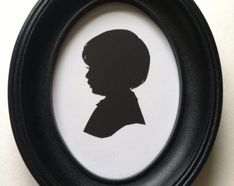 Silhouette Frame SOLID Black