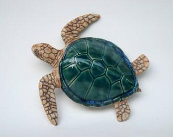 Green Sea Turtle Wall Hanging