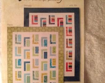 Urbin Cabin quilt pattern
