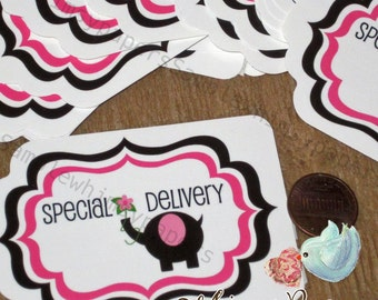 Special Delivery  Stickers - set of 50