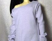 Lilac baggy sweatshirt for SD , 1/3 bjd DOLL