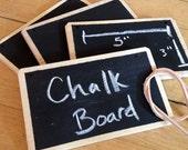 Chalkboard Basket Tag