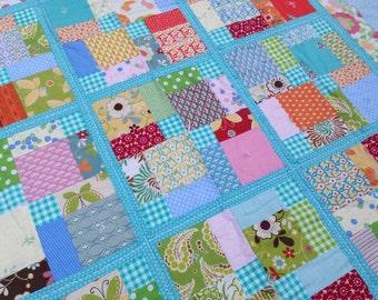 New Baby Girl Boy Crib Quilt Blanket
