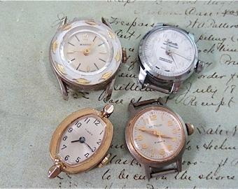 STeampunk watch parts - Vintage Antique Watch movements Steampunk - Scrapbooking D29