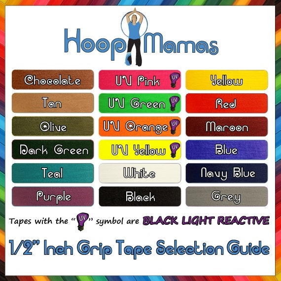 ADD INSiDE GRiP Tape to Your Hoop Mamas Polypro Hoop or Mini Twins - MaKe YoUr HoOp ULtRA GRIPPY for CHEAP!
