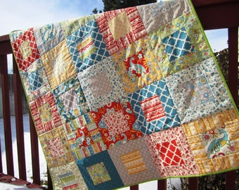 Serenata Quilt -- Throw Size