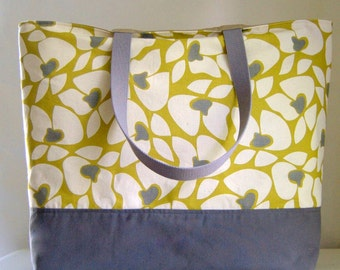 Helen Citron Extra Large BIG Tote Bag / Beach Bag - Ready to Ship