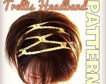 CROCHET PATTERN for the Original Trellis Headband