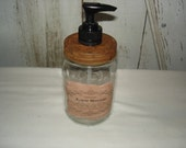 Lye Soap Label Liquid Soap Dispenser, Rustic, Primitive, Soap Dispenser, Kitchen, Bathroom, Ofg, Faap, Hafair, Dub