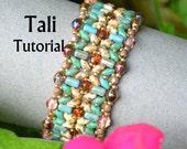 Tali SuperDuo and Rulla Bracelet PDF Tutorial