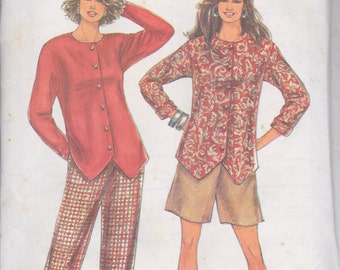 Simplicity 7977 Misses' Pants, Shorts and Top Sizes 6, 8, 10, 12, 14, 16 18 Vintage UNCUT Pattern