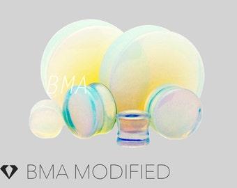 8g Opalite Glass Plugs (3mm)