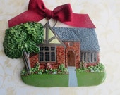 Custom Listing for cliffpugh- one Custom House Ornament a delightful replica of your home- 2nd week of January Delivery