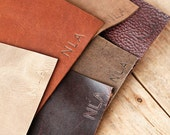 Personalization Upgrade For Your Leather Journal - Initials Upgrade