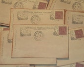 50 Vintage Italy Post Card Wedding Placecard or Escort Cards Italian