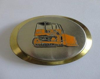 VINTAGE CASE 1450 earth mover belt BUCKLE