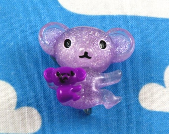 Kawaii Brooch Pin - Koala and Baby