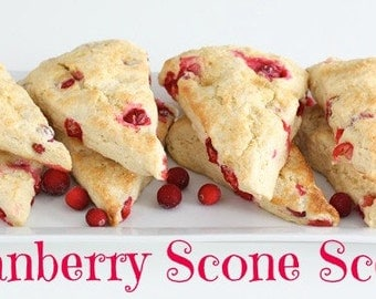 CRANBERRY SCONE Scented Soy Wax Melts - Soy Tarts - Fruit - Dessert - Bakery - Citrus - Wickless Candle - Highly Scented  - Hand Made In USA