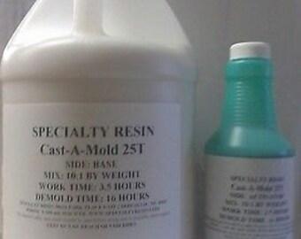 Rtv silicone rubber for mold making 1 Gallon.