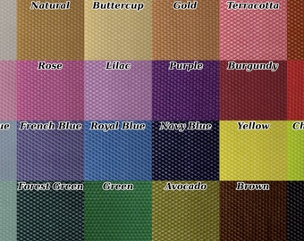 10 Beeswax Honeycomb Sheets - Available in 24 Colors