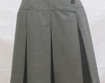 Custom Made Box Pleated yoke Skirt