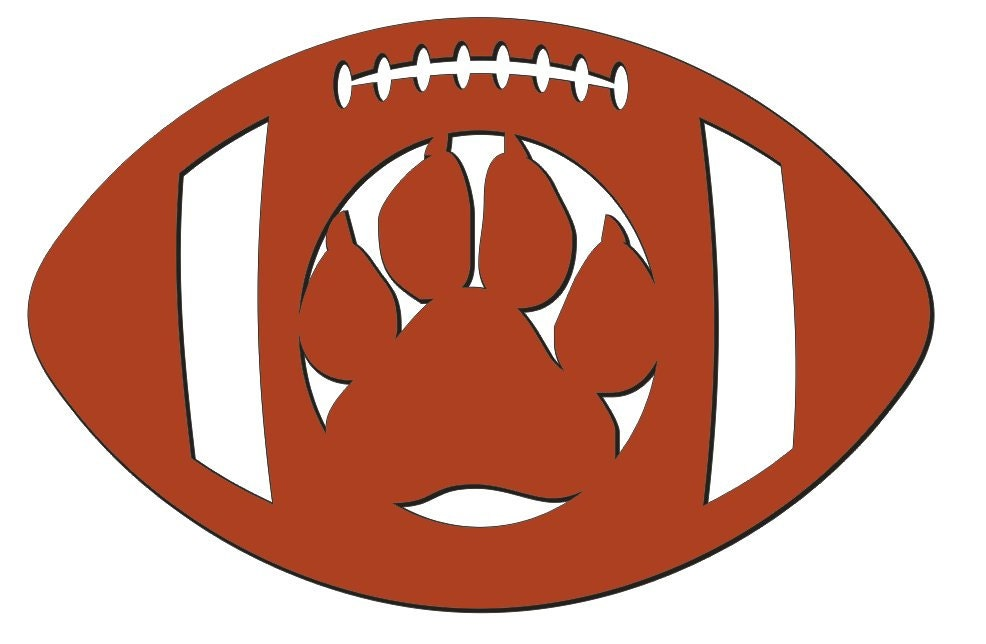 Panther Paw Logos Panther Paw 13 5 x 23 Inch
