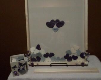 Wedding Wooden Guest Book Drop Box